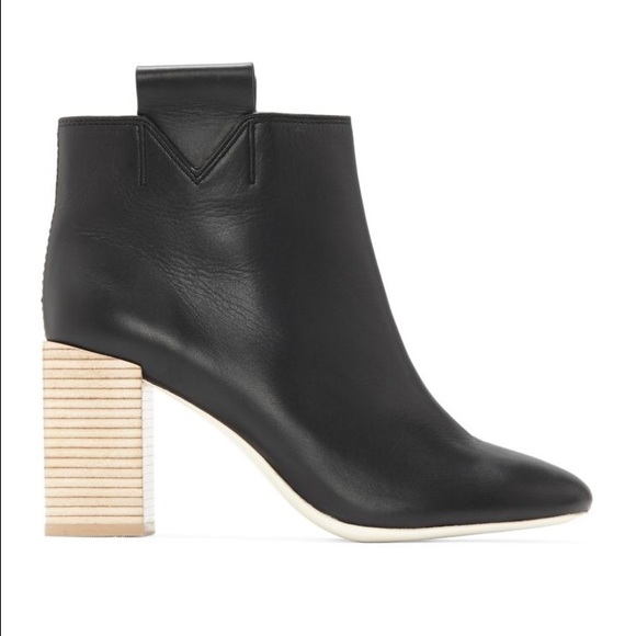Mercedes Castillo Bailee Leather Booties QshnKNdThR